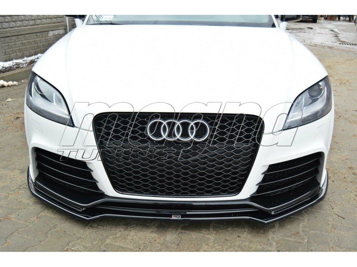 audi tt 8j rs matrix front bumper extension. Black Bedroom Furniture Sets. Home Design Ideas