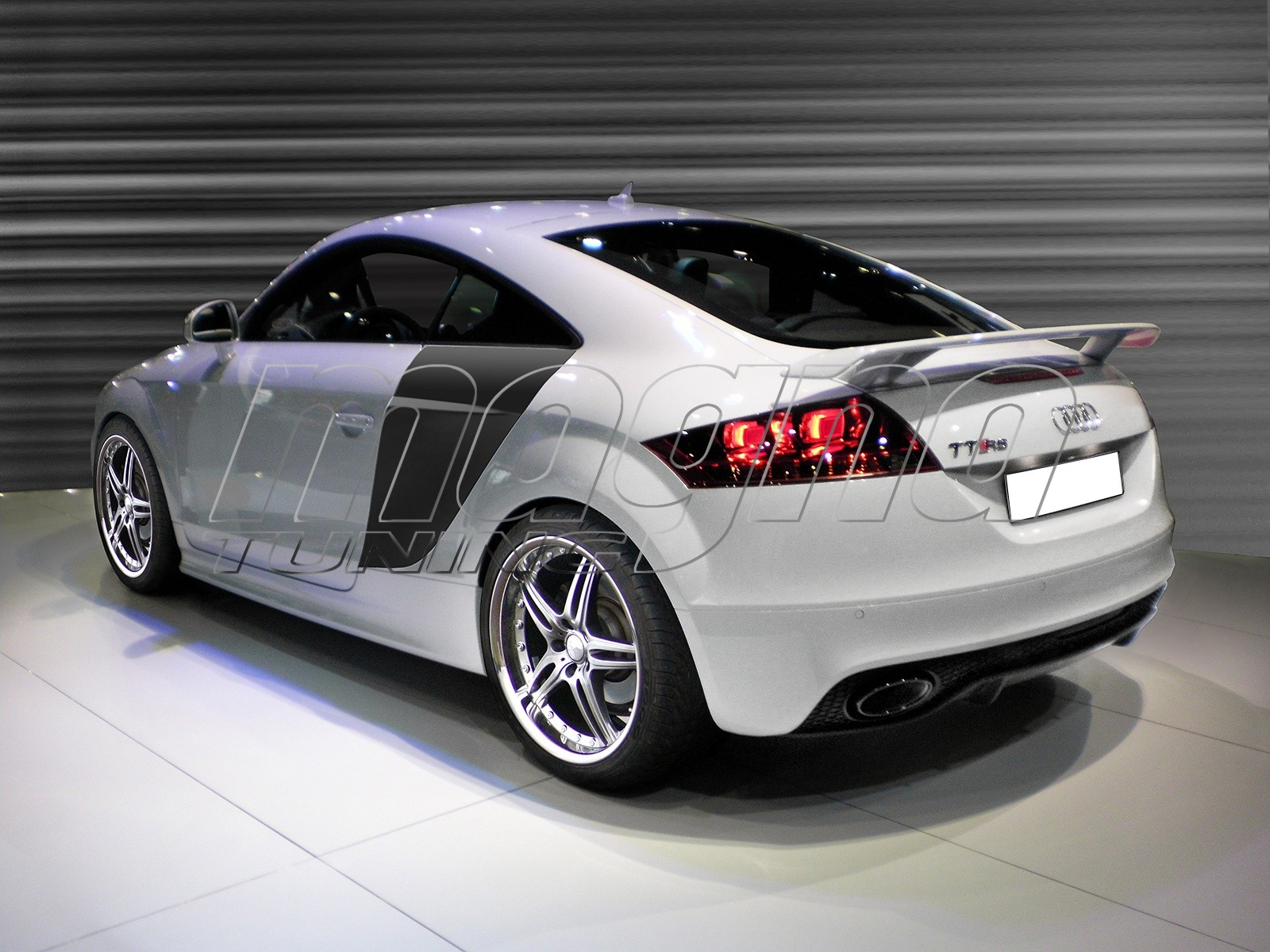 audi tt 8j tt rs look body kit. Black Bedroom Furniture Sets. Home Design Ideas