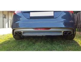 Audi TT 8J TTS Meteor Rear Bumper Extension