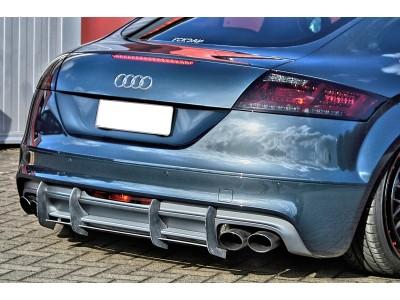 Audi TT 8J TTS RaceStyle Rear Bumper Extension