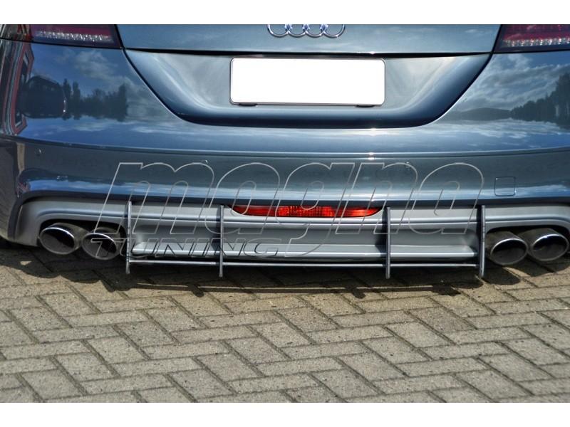 Audi TT 8J TTS Racer Rear Bumper Extension