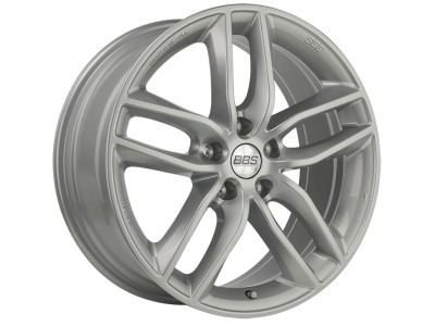 BBS Design SX Brilliant Silver Wheel