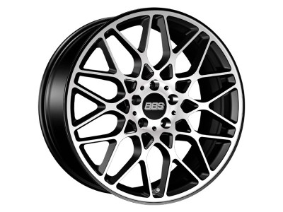 BBS Performance RX-R Black Diamond Cut Wheel