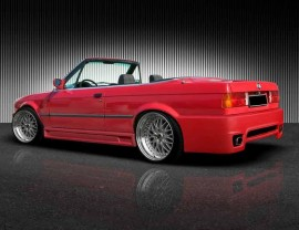 BMW E30 Plus Heckstossstange