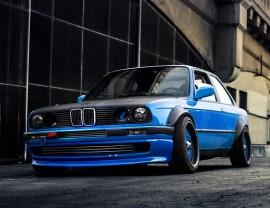 BMW E30 SX Frontansatz