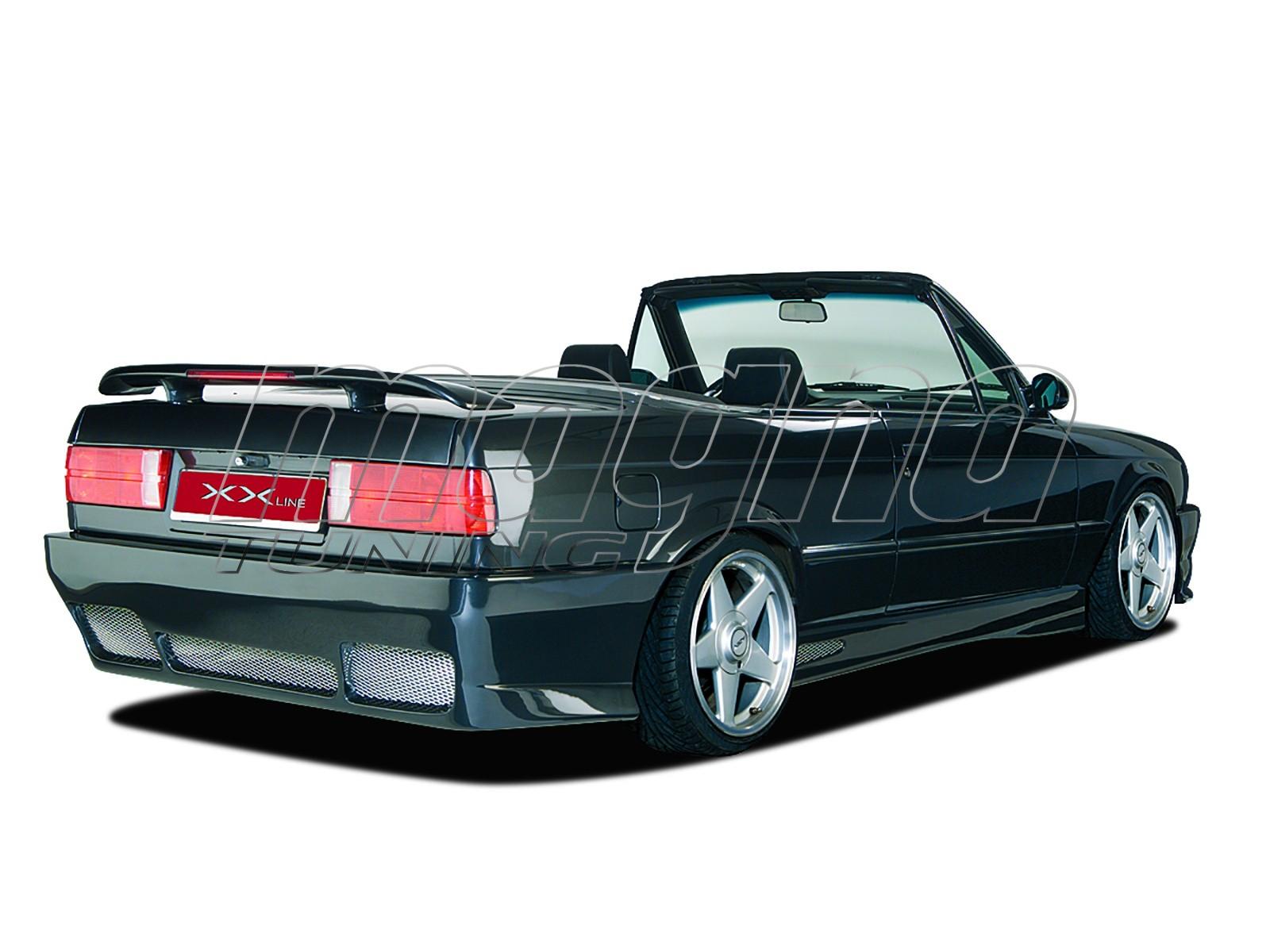 BMW E30 XXL-Line Heckstossstange