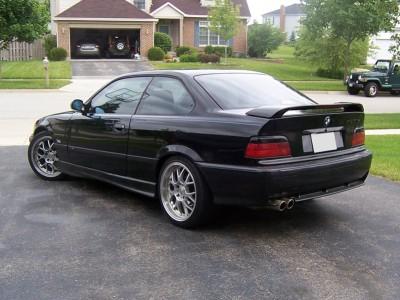 BMW E36 Extensie Bara Spate M3-Look