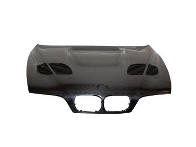 BMW E39 GTR Carbon Fiber Hood
