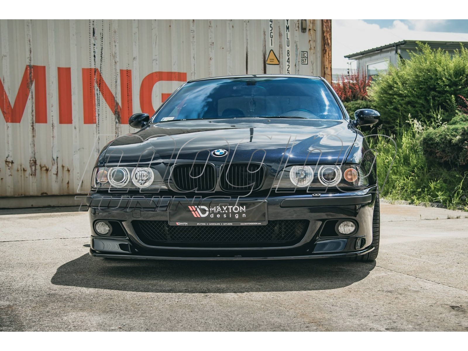 BMW E39 M5 Matrix Front Bumper Extensions