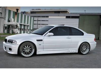 BMW E46 3D Side Skirts