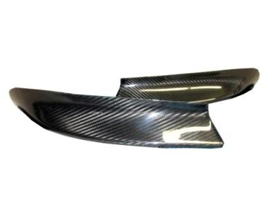 BMW E46 CSL-Style Carbon Fiber Front Bumper Extensions