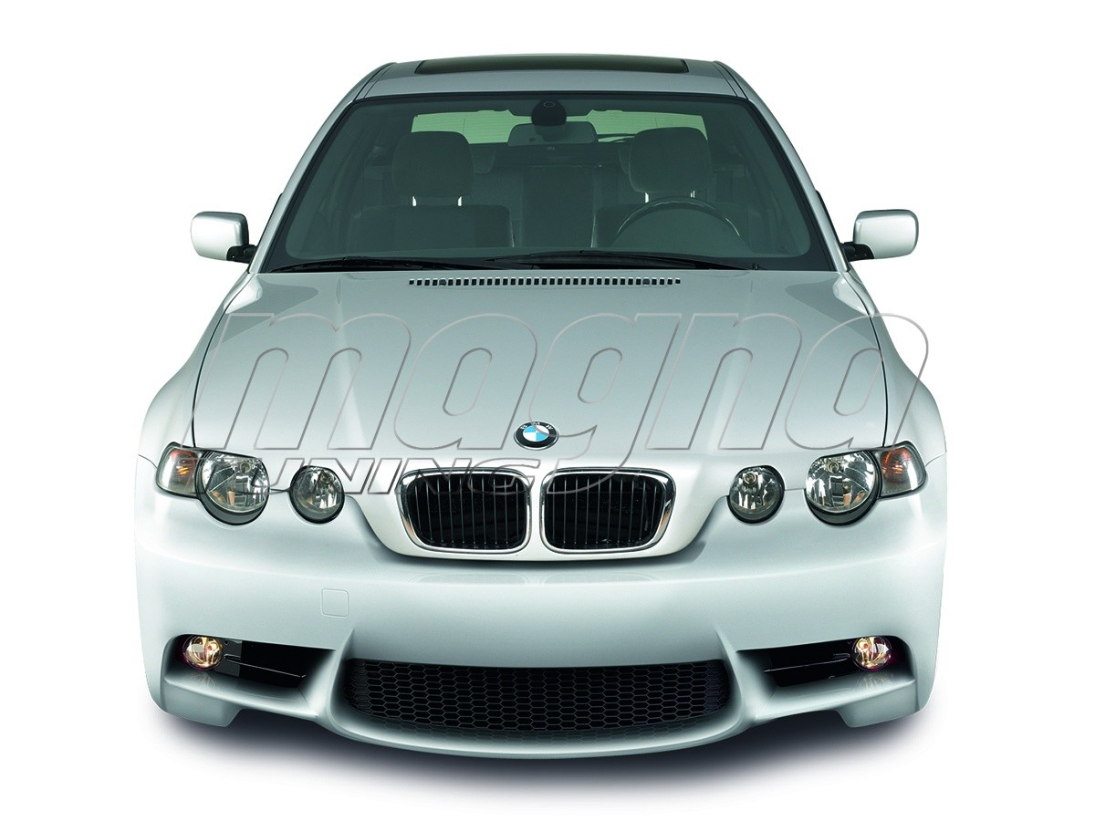 bmw e46 compact m line front bumper. Black Bedroom Furniture Sets. Home Design Ideas
