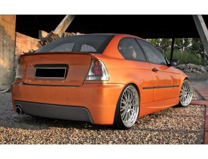 BMW E46 Compact Steel Rear Bumper
