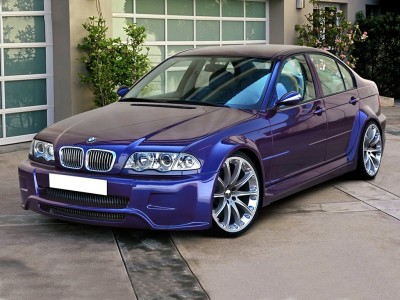 BMW E46 Cosmos Front Wheel Arch Extensions