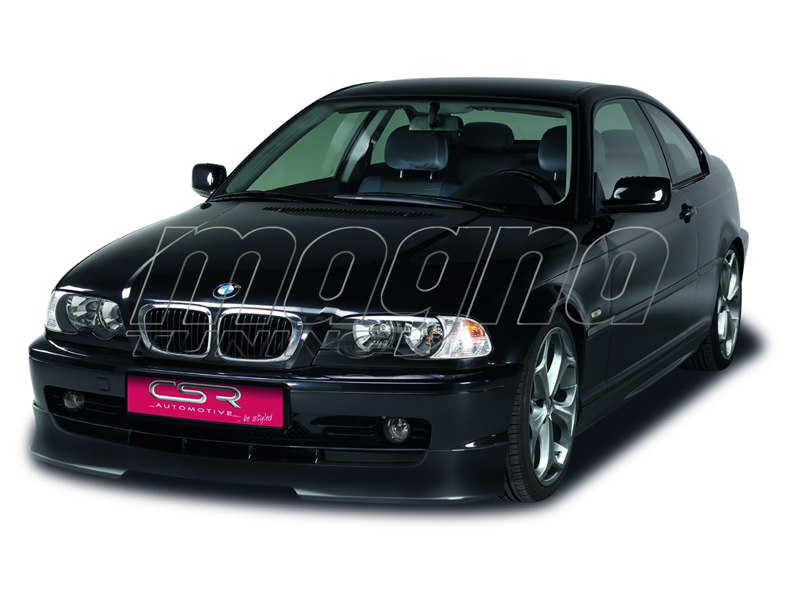 bmw e46 coupe xl line front bumper extension. Black Bedroom Furniture Sets. Home Design Ideas