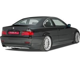 BMW E46 Cryo Rear Bumper Extension