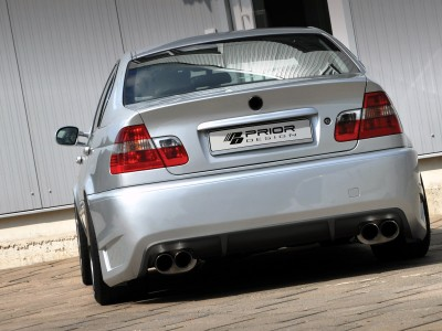 BMW E46 Exclusive Rear Bumper