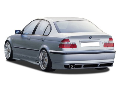 BMW E46 Facelift M-Line Rear Bumper Extension