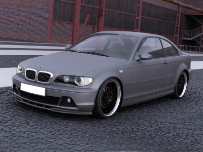 BMW E46 Facelift MaxLine Front Bumper Extension