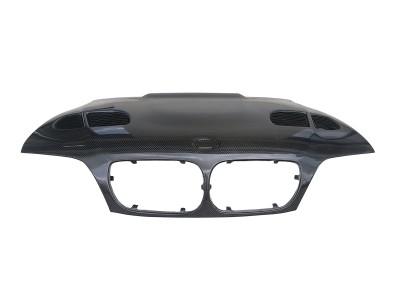 BMW E46 GTR Carbon Fiber Hood
