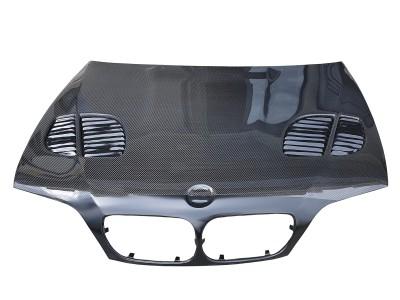 BMW E46 GTR-X Carbon Fiber Hood