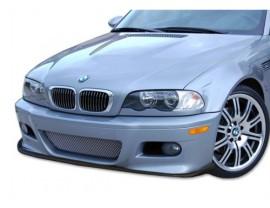 BMW E46 M3-C Carbon Fiber Front Bumper Extension