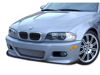 BMW E46 M3-C Carbon Fiber Front Bumper Extension