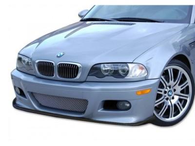 BMW E46 M3 C-Line Carbon Fiber Front Bumper Extension