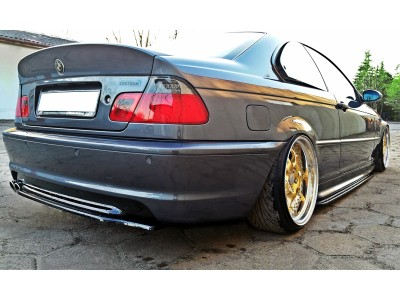 BMW E46 Master Rear Bumper Extension