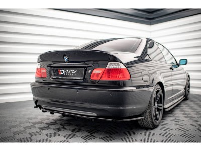 BMW E46 Master-X Rear Bumper Extension
