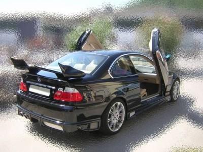 BMW E46 Shuriken Heckflugel