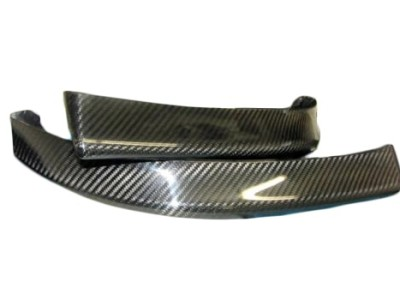 BMW E46 Sonic Carbon Fiber Front Bumper Extensions