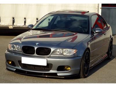BMW E46 Vortex Carbon Fiber Front Bumper Extension