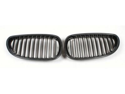 BMW E60 / E61 Grila Fata OEM Fibra De Carbon