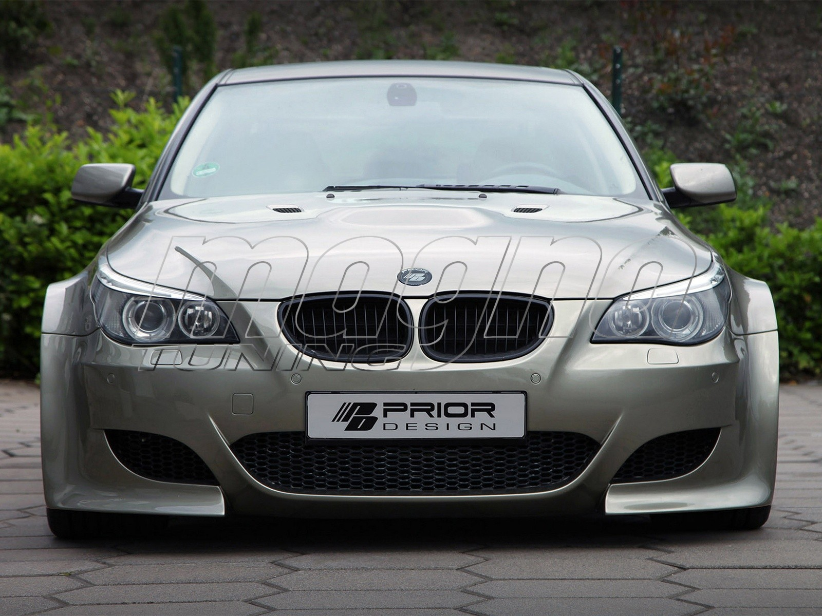 Bmw E60 M Look Wide Body Kit