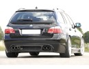 BMW E61 V2 Rear Bumper Extension