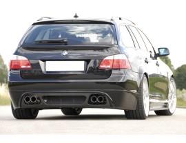 BMW E61 V2 Rear Bumper Extension