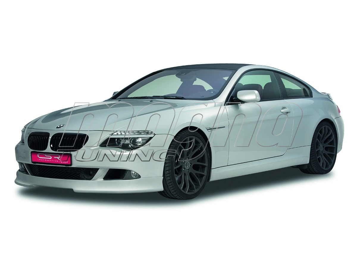 bmw e63 e64 facelift extensie bara fata newstyle. Black Bedroom Furniture Sets. Home Design Ideas