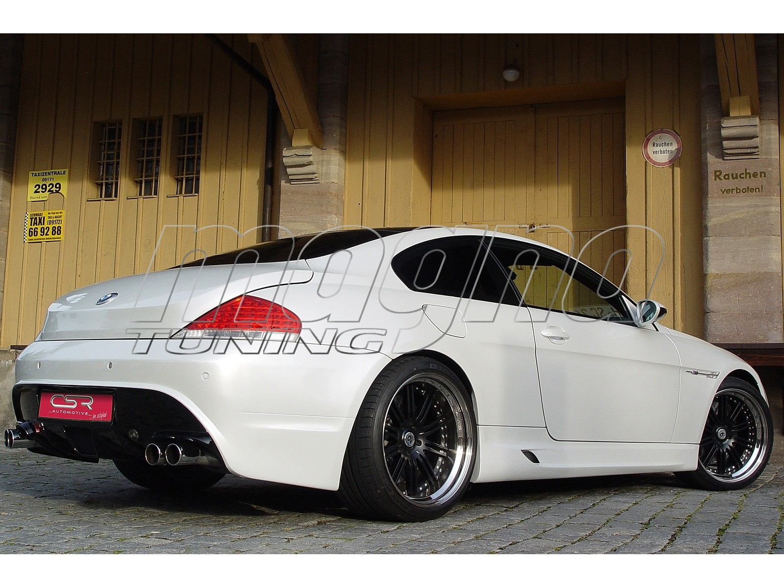 Bmw E63 E64 M Race Rear Bumper