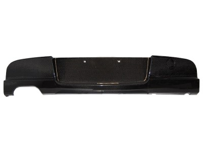 BMW E87 / E81 SpeedX Carbon Fiber Rear Bumper Extension