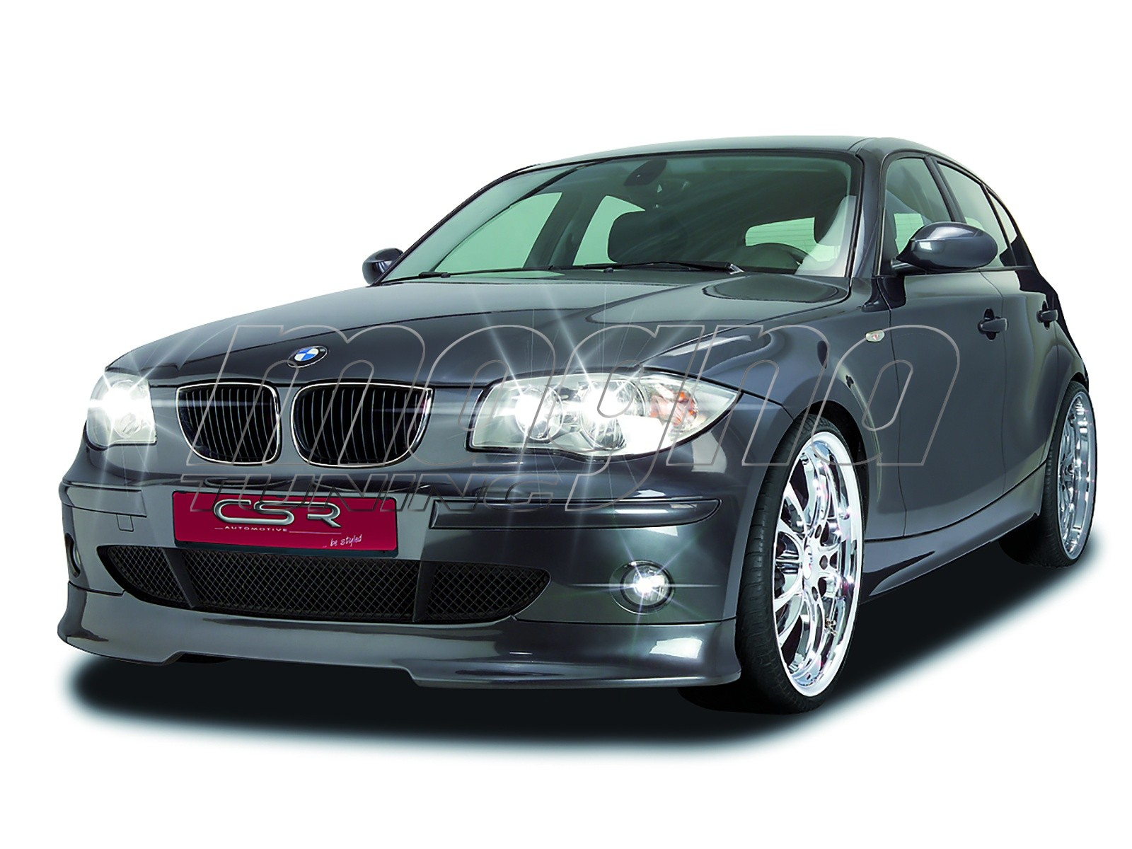 bmw e87 o2 line front bumper extension. Black Bedroom Furniture Sets. Home Design Ideas