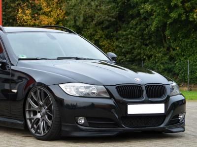 BMW E90 / E91 Facelift Intenso2 Front Bumper Extensions