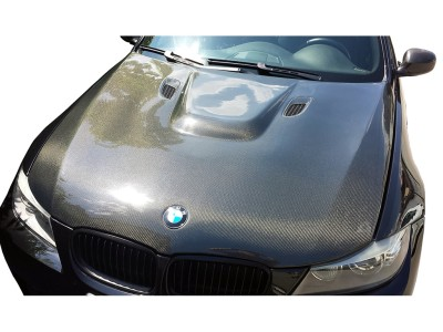 BMW E90 / E91 Facelift M3-Look Carbon Motorhaube