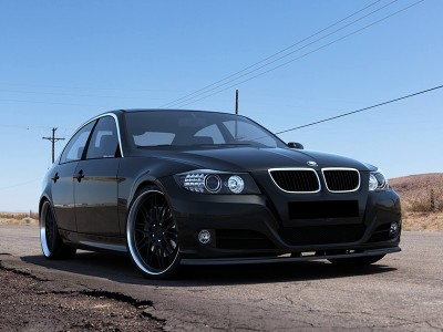 BMW E90 / E91 Facelift MX Front Bumper Extension