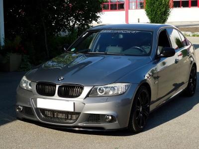 BMW E90 / E91 Facelift RX Carbon Fiber Front Bumper Extension