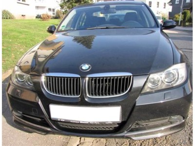 BMW E90 / E91 Facelift Supreme Carbon Fiber Front Bumper Extension