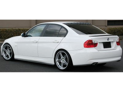 BMW E90 Boost Rear Bumper Extensions