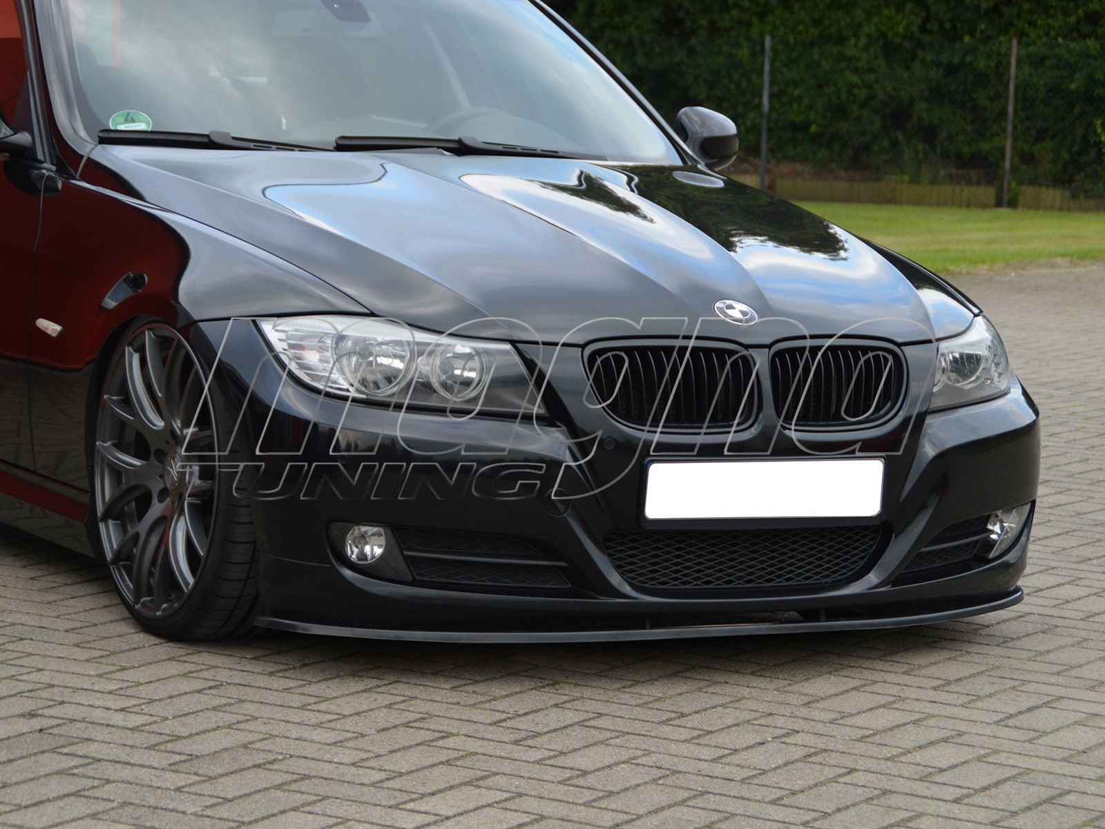 bmw e90 e91 facelift iris front bumper extension. Black Bedroom Furniture Sets. Home Design Ideas