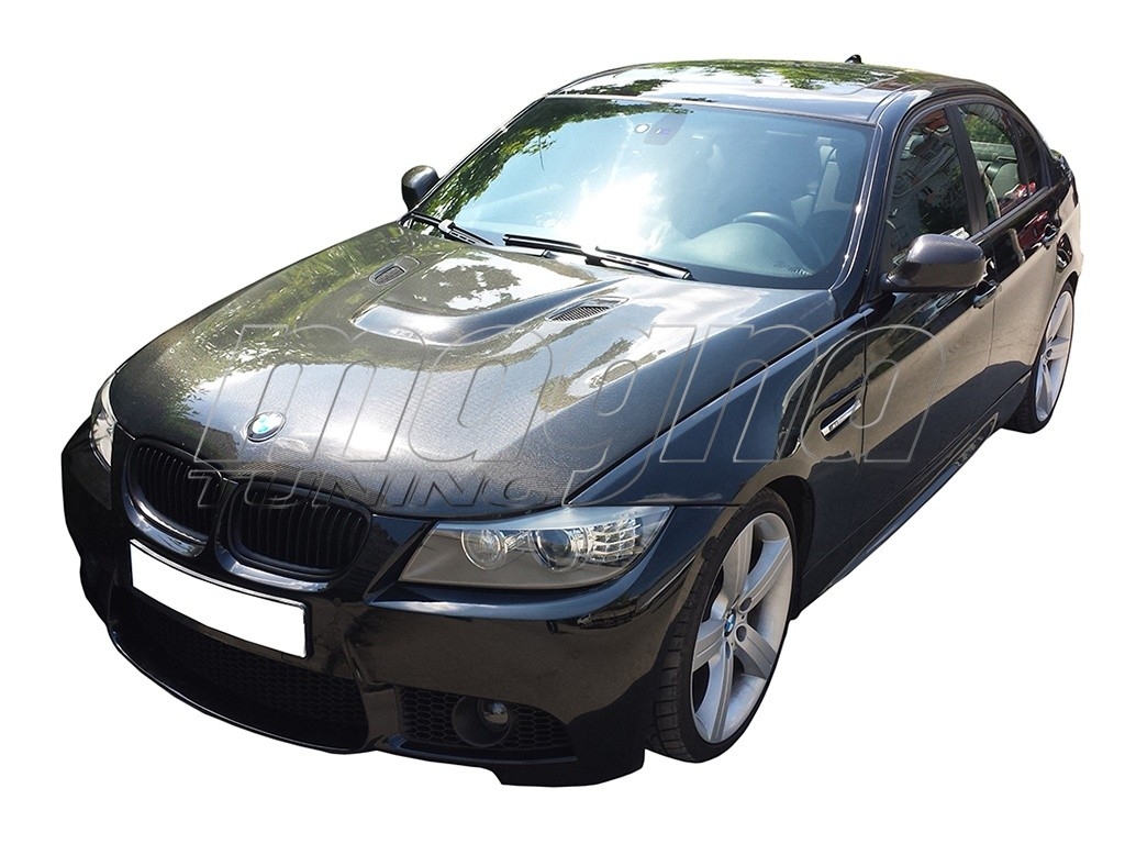 BMW E90 / E91 Facelift M3-Type Carbon Fiber Hood