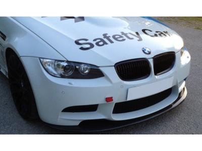 BMW E90 M3 Facelift V2 Carbon Fiber Front Bumper Extension